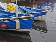 Yorkshire Coast - Whitby's colourful boats