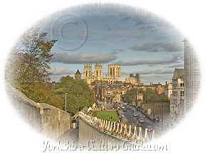 York Minster and Walls