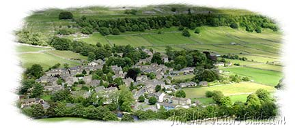 Aerial view of Kettlewell