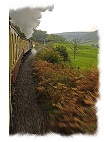 North Yorkshire Moors Railway - Grosmont to Goatland incline