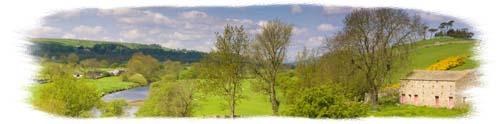 Wensleydale Panorama