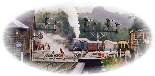 North Yorkshire Moors Railway - Grosmont Station