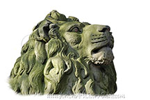 Picture of one of the Lions of Saltaire